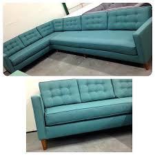 mid century modern sofa with chaise custom made modern furniture danish mid century modern extra