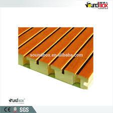 panneaux acoustiques bois placage de bois fente acoustique absorption acoustique panneau