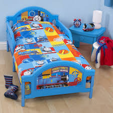 thomas the tank engine power boys junior toddler cot bed set 4 in