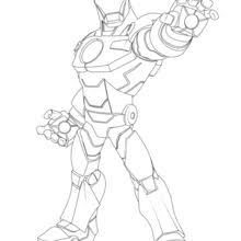 Iron Man Coloring Pages Hellokids Com Coloring Page Iron