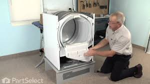 dryer repair replacing the dryer drum glide whirlpool part