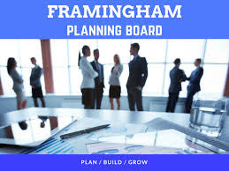 planning board town of framingham ma official website