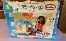 little tikes tike stix rocket building set blocks 30 pieces