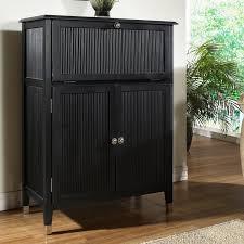 Pulaski Bar Cabinet Pulaski Furniture Black Leather And Copper Bar Cabinet Hayneedle