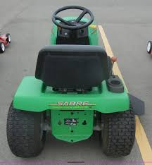 john deere 1742 sabre lawn mower item a9981 sold august