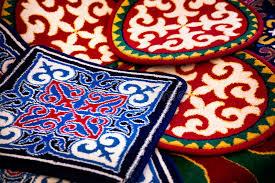 tappeto etnico tappeto etnico asiatico fotografia stock immagine di etnico