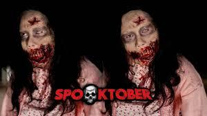 walking dead zombie makeup tutorial bahasa indonesia