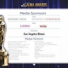 2012 nclr alma awards program simplebooklet com