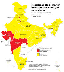 majority of states have very few stock market investors livemint
