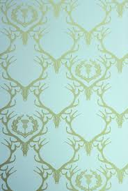 wallpaper for walls deer damask wallpaper duck egg blue u0026 antique gold art