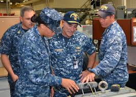 rear adm kitchener tours sermc u003e naval sea systems command u003e news
