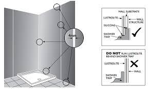 Bathtub Installation Guide High Gloss Acrylic Wall Panels Back Painted Glass Alternative