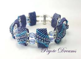 metal bead bracelet images Flat cellini carrier bead bracelet beadfx jpg