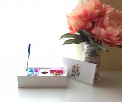 Desk Organizer Box How To Create A Desk Organizer From An Iphone Box And Bonus
