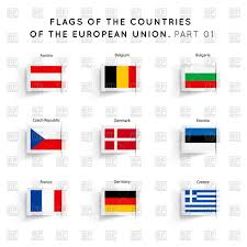 Similar Flags Flags Of European Union Countries Royalty Free Vector Clip Art