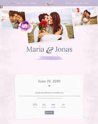 marriage invitation websites 70 best wedding website templates free premium freshdesignweb