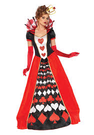 party city couples halloween costumes deluxe queen of hearts costume