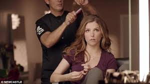 car commercial girl short blond hair anna kendrick questions her attractiveness in hilarious non super
