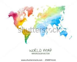 world map vector free free watercolor world map vector free vector stock