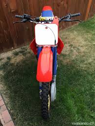 1987 honda cr250r showcase bike vintagemx net vintagemx net