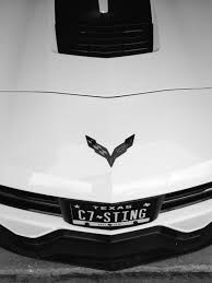 2014 corvette stingray emblem black c7 corvette flag emblems corvetteforum chevrolet