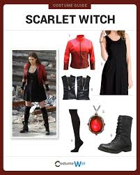 Witch Costume Halloween 25 Scarlet Witch Costume Ideas Scarlet Witch