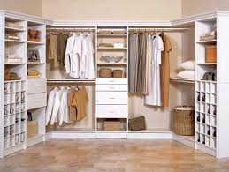 fantastic bedroom and walk in closet decoration using brown