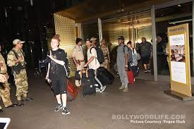 justin bieber s crew lands in mumbai ahead of his concert view