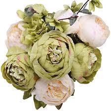 silk peonies starlifey peony bouquet silk peonies wedding centerpiece
