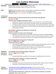 Resume For One Job For Many Years Career Experts Mercilessly Revised My Entry Level Resume