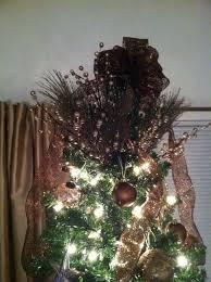 make bow christmas tree topper christmas lights decoration