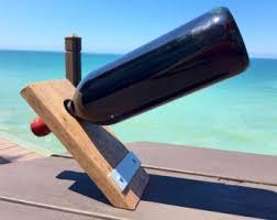 floating wine bottle holder wine rack wood wine rack wood
