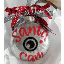 Santa Cam With Poem Made With Ornaments From Target And Poem