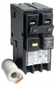 50 amp hom250gfic two pole gfci circuit breaker for square d