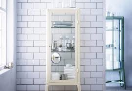ikea fabrikor high low the vintage style pharmacy cabinet the organized home