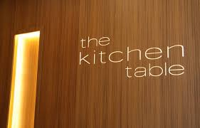 the kitchen table the kitchen table restaurant at w singapore