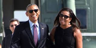 Obama S Vacation Look Barack And Michelle Obama Appear Fresh Faced And Relaxed On