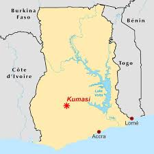 Accra Ghana Map Urbanization And Deforestation In The Greater Kumasi Area West