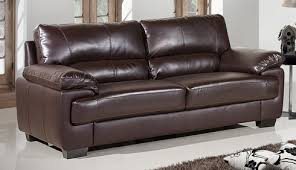 Leather Sofa Land Oregon 3 Seater Brown Leather Sofa Leather Sofa Land