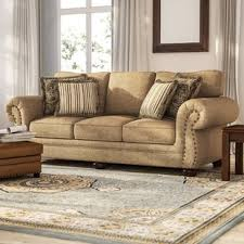 simmons upholstery ashendon sofa simmons upholstery suede sofa wayfair