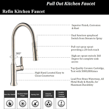 best kitchen faucets refin leed free kitchen sink faucet solid