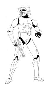 clone trooper coloring pages 9318
