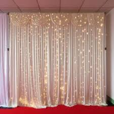 wedding backdrop led 3mx3m warm white led curtain lights for wedding backdrops