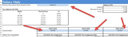 Tax Table 2013 South African Tax Spreadsheet Calculator 2016 2017 U2022 Auditexcel Co Za