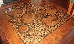 log floor a cut above hardwood floors magazine