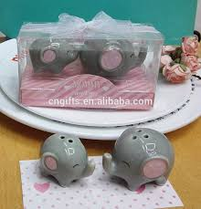 salt and pepper wedding favors ywbeyond christening gifts wedding favors peanut elephant