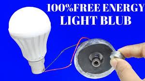 blue free light bulbs 100 free energy light bulbs for life time using magnet and bottle