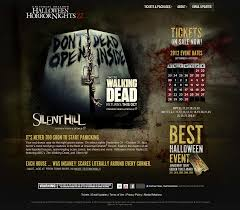 theme for halloween horror nights 2011 behind the thrills the walking dead will come to life at