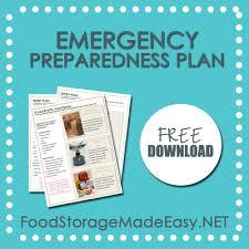 Emergency Preparedness Worksheet Emergency Preparedness Plan Whats