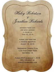 post wedding reception invitations 21 beautiful at home wedding reception invitations bridalpulse
